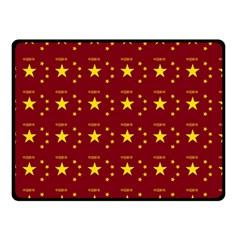 Chinese New Year Pattern Double Sided Fleece Blanket (Small)