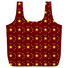 Chinese New Year Pattern Full Print Recycle Bags (L)