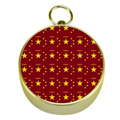 Chinese New Year Pattern Gold Compasses