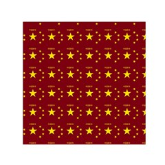 Chinese New Year Pattern Small Satin Scarf (Square)