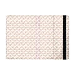 Rose Gold Line Apple Ipad Mini Flip Case by Jojostore