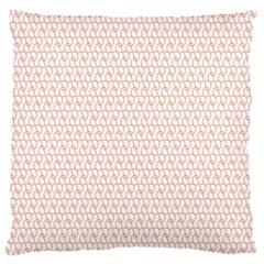 Rose Gold Line Standard Flano Cushion Case (one Side) by Jojostore