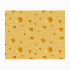 Seamless Cheese Pattern Small Glasses Cloth (2 Side)