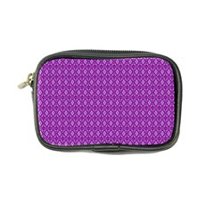 Surface Purple Patterns Lines Circle Coin Purse by Jojostore