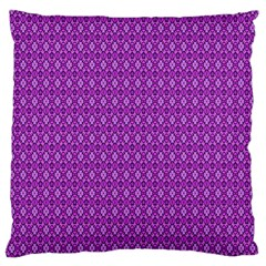 Surface Purple Patterns Lines Circle Standard Flano Cushion Case (one Side) by Jojostore