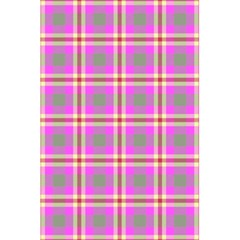 Tartan Fabric Colour Pink 5 5  X 8 5  Notebooks by Jojostore