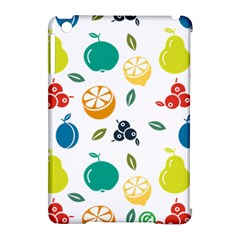 Fruit Lime Apple Ipad Mini Hardshell Case (compatible With Smart Cover) by Jojostore