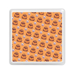 Helloween Moon Mad King Thorn Pattern Memory Card Reader (square)  by Jojostore