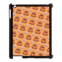 Helloween Moon Mad King Thorn Pattern Apple Ipad 3/4 Case (black) by Jojostore