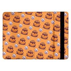 Helloween Moon Mad King Thorn Pattern Samsung Galaxy Tab Pro 12 2  Flip Case by Jojostore