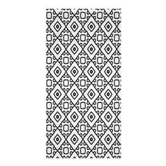 Triangel Plaid Shower Curtain 36  X 72  (stall)  by Jojostore