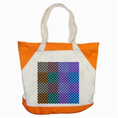 Alphabet Number Accent Tote Bag by Jojostore