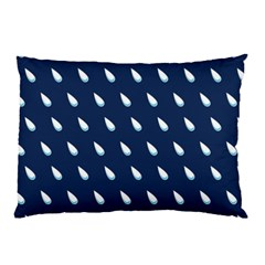 Another Rain Day Water Blue Pillow Case by Jojostore