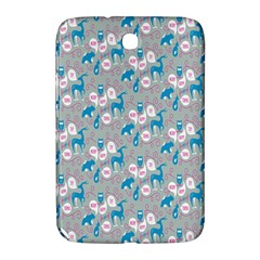 Animals Deer Owl Bird Bear Grey Blue Samsung Galaxy Note 8 0 N5100 Hardshell Case  by Jojostore