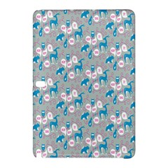 Animals Deer Owl Bird Bear Grey Blue Samsung Galaxy Tab Pro 10 1 Hardshell Case by Jojostore