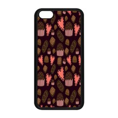 Bread Chocolate Candy Apple Iphone 5c Seamless Case (black) by Jojostore