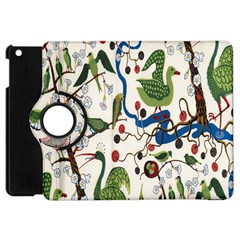 Bird Green Swan Apple Ipad Mini Flip 360 Case by Jojostore
