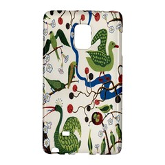 Bird Green Swan Galaxy Note Edge by Jojostore