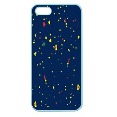 Christmas Sky Happy Apple Seamless Iphone 5 Case (color) by Jojostore
