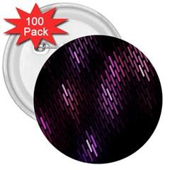 Fabulous Purple Pattern Wallpaper 3  Buttons (100 Pack)  by Jojostore