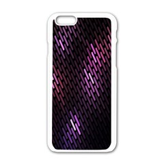 Fabulous Purple Pattern Wallpaper Apple Iphone 6/6s White Enamel Case by Jojostore