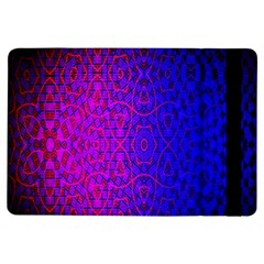Geometri Purple Pink Blue Shape Pattern Flower Ipad Air Flip by Jojostore