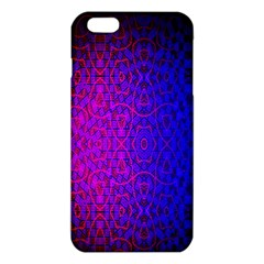Geometri Purple Pink Blue Shape Pattern Flower Iphone 6 Plus/6s Plus Tpu Case by Jojostore