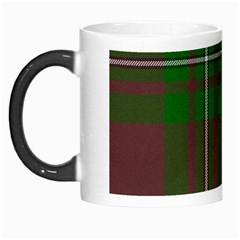 Cardney Tartan Fabric Colour Green Morph Mugs by Jojostore