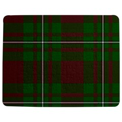 Cardney Tartan Fabric Colour Green Jigsaw Puzzle Photo Stand (rectangular) by Jojostore
