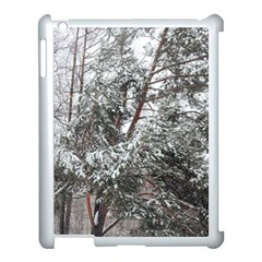 Winter Fall Trees Apple Ipad 3/4 Case (white) by ansteybeta