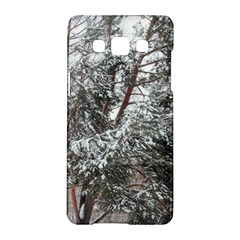 Winter Fall Trees Samsung Galaxy A5 Hardshell Case  by ansteybeta