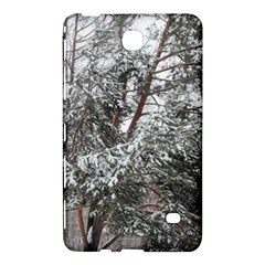 Winter Fall Trees Samsung Galaxy Tab 4 (8 ) Hardshell Case  by ansteybeta
