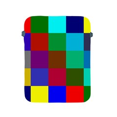 Chessboard Multicolored Apple Ipad 2/3/4 Protective Soft Cases by Jojostore