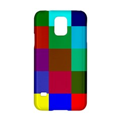 Chessboard Multicolored Samsung Galaxy S5 Hardshell Case  by Jojostore
