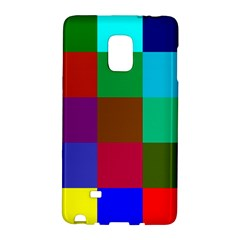 Chessboard Multicolored Galaxy Note Edge by Jojostore