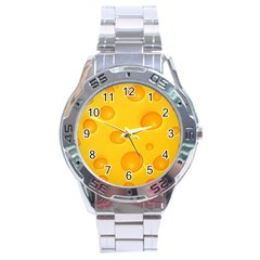 Cheese Stainless Steel Analogue Watch by Jojostore