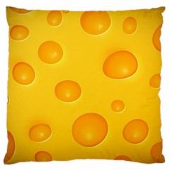 Cheese Large Cushion Case (Two Sides)