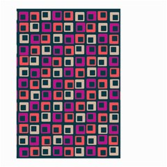 Abstract Squares Small Garden Flag (two Sides) by Jojostore