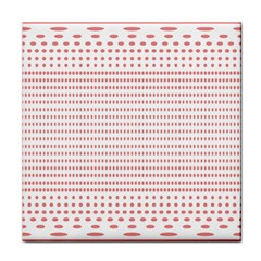 Dalmatian Red Circle Tile Coasters by Jojostore
