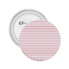Dalmatian Red Circle 2 25  Buttons by Jojostore