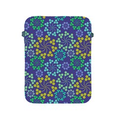 Color Variationssparkles Pattern Floral Flower Purple Apple Ipad 2/3/4 Protective Soft Cases by Jojostore