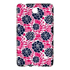 Flower Floral Rose Purple Pink Leaf Samsung Galaxy Tab 4 (7 ) Hardshell Case  by Jojostore