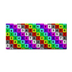 Mapping Grid Number Color Cosmetic Storage Cases by Jojostore