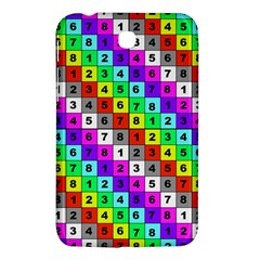 Mapping Grid Number Color Samsung Galaxy Tab 3 (7 ) P3200 Hardshell Case  by Jojostore