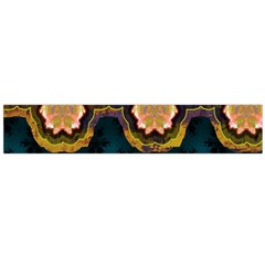 Ornate Floral Textile Flano Scarf (large) by Jojostore