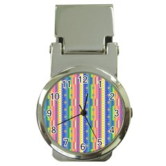 Psychedelic Carpet Money Clip Watches