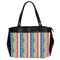 Psychedelic Carpet Office Handbags (2 Sides)  by Jojostore