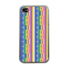 Psychedelic Carpet Apple Iphone 4 Case (clear) by Jojostore