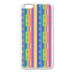 Psychedelic Carpet Apple Iphone 6 Plus/6s Plus Enamel White Case by Jojostore