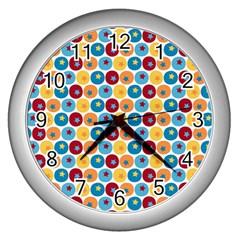 Star Ball Wall Clocks (silver)  by Jojostore